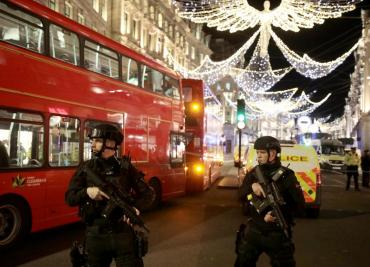 Londres: reportan disparos en Oxford Circus