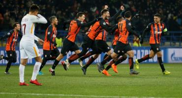 Shakhtar Donetsk venció a AS Roma por Champions League