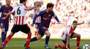 Barcelona le ganó al Athletic de Bilbao en el Nou Camp