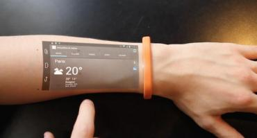 Video: la pulsera que transforma nuestra piel en una tablet