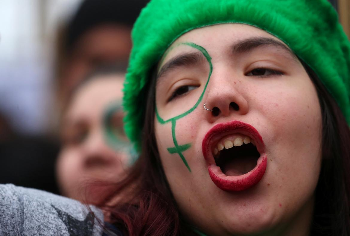 Aborto Legal, marcha a favor frente al Congreso, Reuters