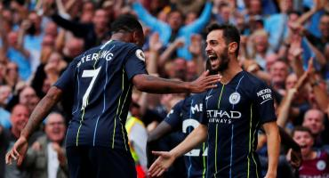 Premier League: con Agüero de titular, el City derrotó a Arsenal