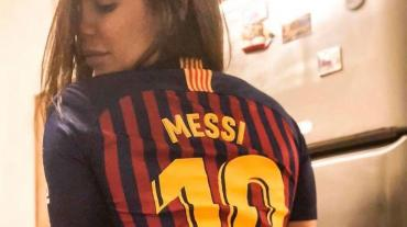 Instagram: el sensual tatuaje de 'Miss Bum Bum' en honor a Messi